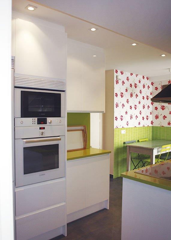 Ideas para decorar la cocina con papel pintado