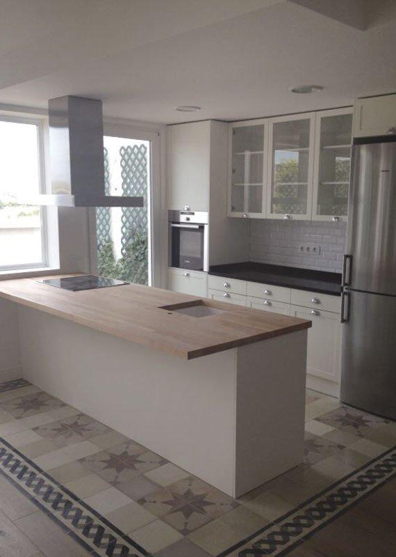 Interiorismo-y-decoración.-Estudio-Ryd,-Madrid suelos cocina