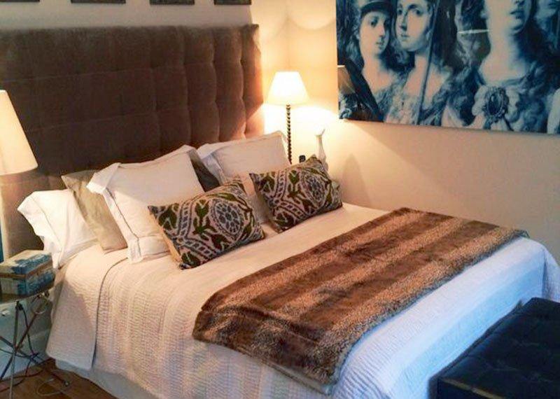 Estudio Ryd, Madrid. Proyecto de decoración de dormitorio