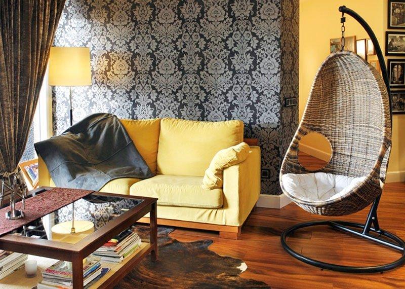 Estudio Ryd, Madrid. Proyecto de decoración de salón.