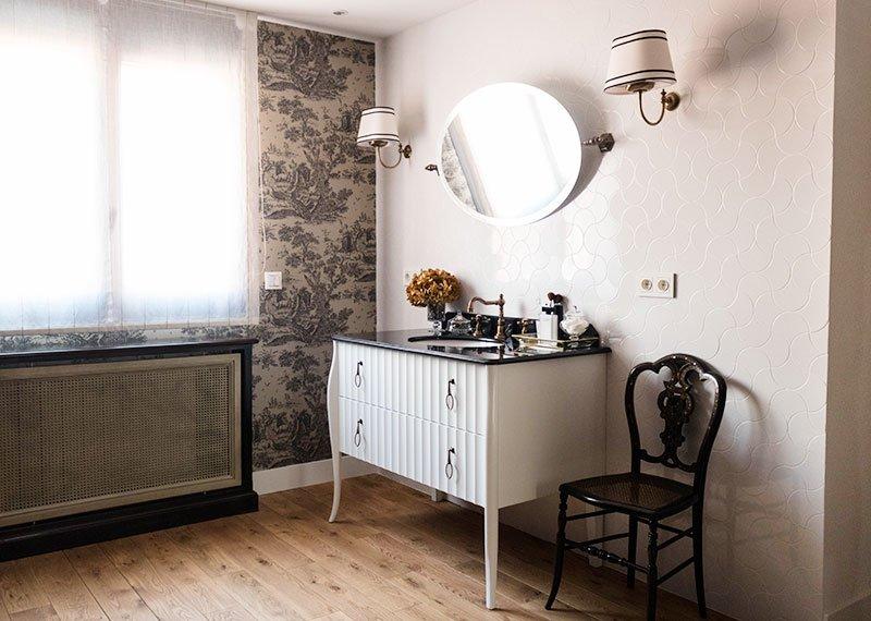 Estudio Ryd, Madrid. Proyecto de decoración de tocador.