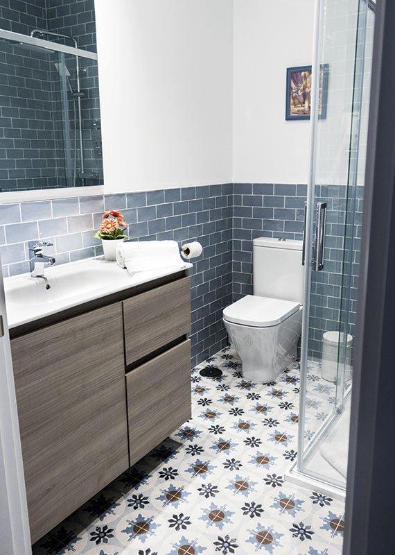 Estudio Ryd, Madrid. Proyecto de decoración de baño