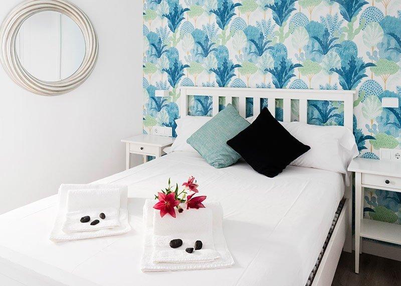 Estudio Ryd, Madrid. Proyecto de decoración de dormitorio.