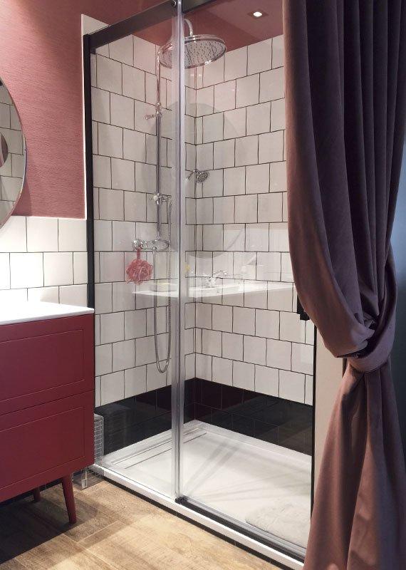 Interiorismo y decoración. Estudio-Ryd, proyecto de baño, mueble color Madrid