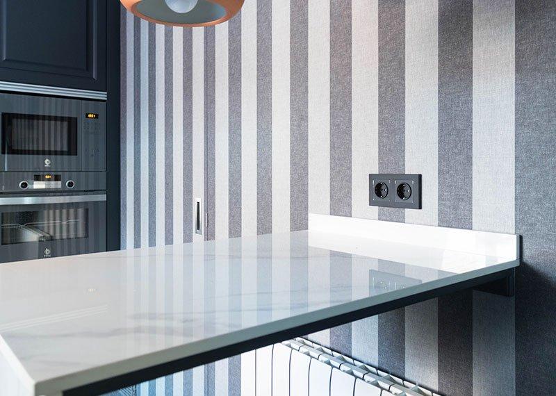 Interiorismo y decoración. Estudio-Ryd, proyecto de cocina, Madrid