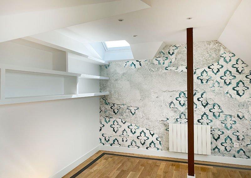 Interiorismo y decoración. Decorar con papeles pintados. Estudio Ryd, Madrid