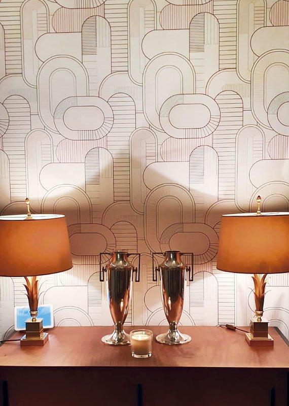 Interiorismo y decoración. Decorando con papeles pintados. Estudio Ryd, Madrid
